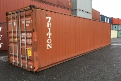 40' Triton like new, used 4-star container