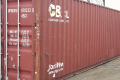 40 ft high cube shipping container used 4-star