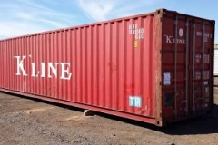 KLine red 40' excellent used condition 40ft container