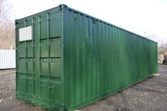 owner-repainted-green-used-3-star-shipping-container