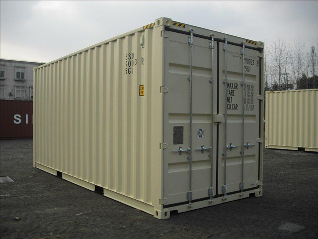 20 Foot One Trip Shipping Container