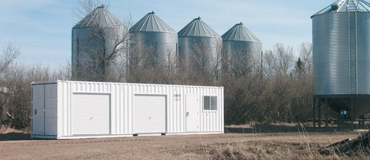 Farm Seed Storage, Farm portable workshop, farm portable machine shop, machineshop