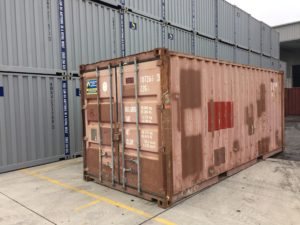 1-star economy used shipping container