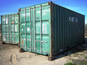 3-Star Used Shipping Container Great Condition