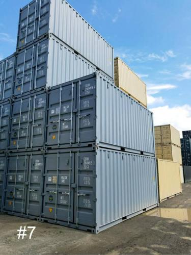 New/1-Trip 20ft shipping container, standard height, with 5/3 doors