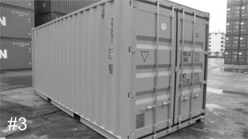 New/1-Trip 20ft shipping container with 4/4 doors