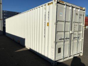 container delivery doors off last